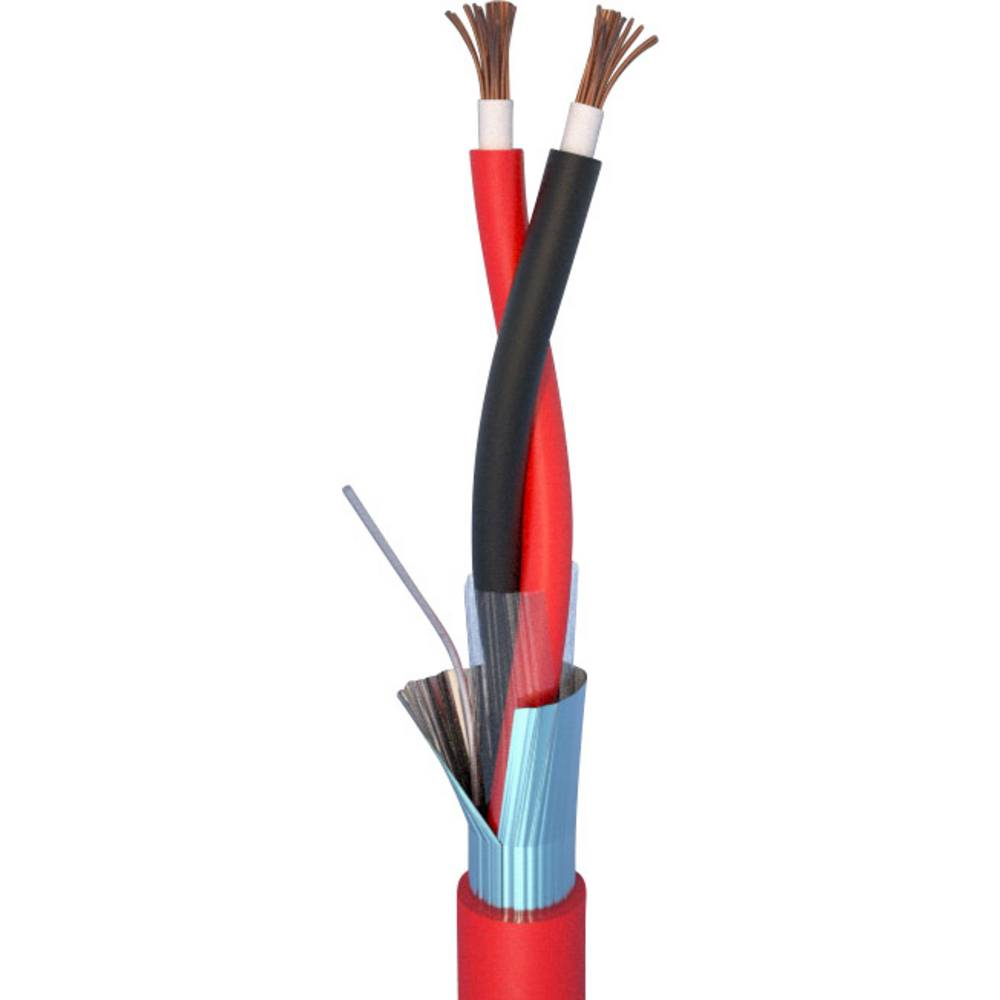 Brandalarm kabel skærmet ELAN 282151R Rød Metervare