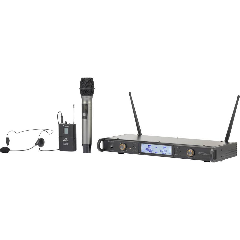 Bežični mikrofon u setu Renkforce BM-7200 bežični uklj. kabel