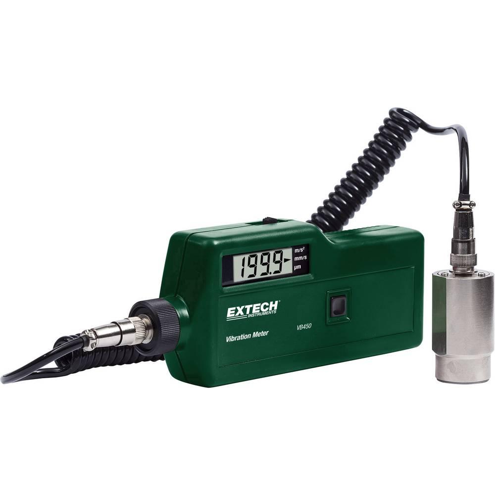 Mjerač vibracija Extech VB450 ±5 %
