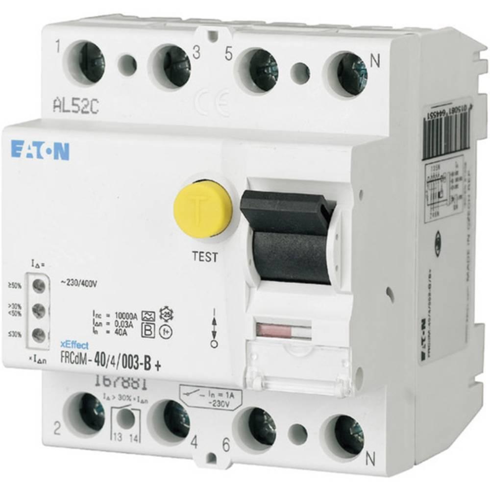 FI-sikkerhedsafbryder allstrømssensitiv 4-polet 40 A 0.03 A 240 V, 415 V Eaton 167881