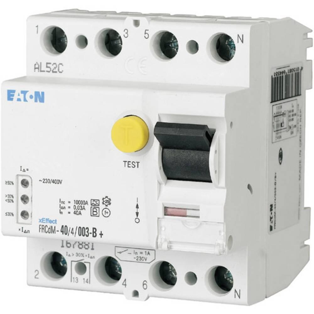 FI-sikkerhedsafbryder allstrømssensitiv 4-polet 40 A 0.3 A 240 V, 415 V Eaton 167885