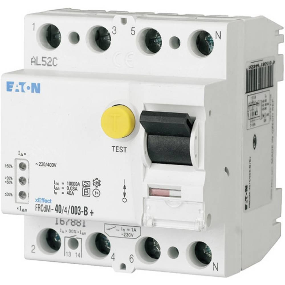 FI-sikkerhedsafbryder allstrømssensitiv 4-polet 63 A 0.03 A 240 V, 415 V Eaton 167894