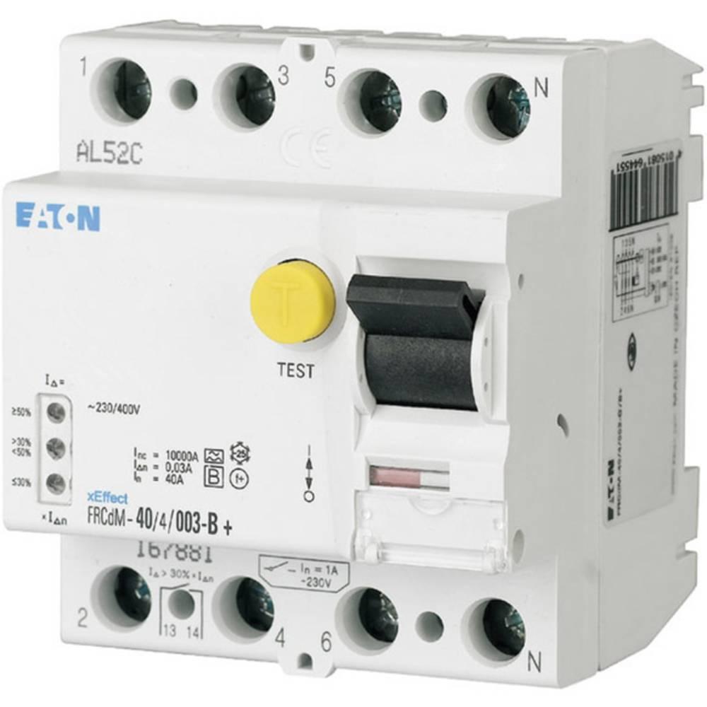 FI-sikkerhedsafbryder allstrømssensitiv 4-polet 40 A 0.3 A 240 V, 415 V Eaton 167897