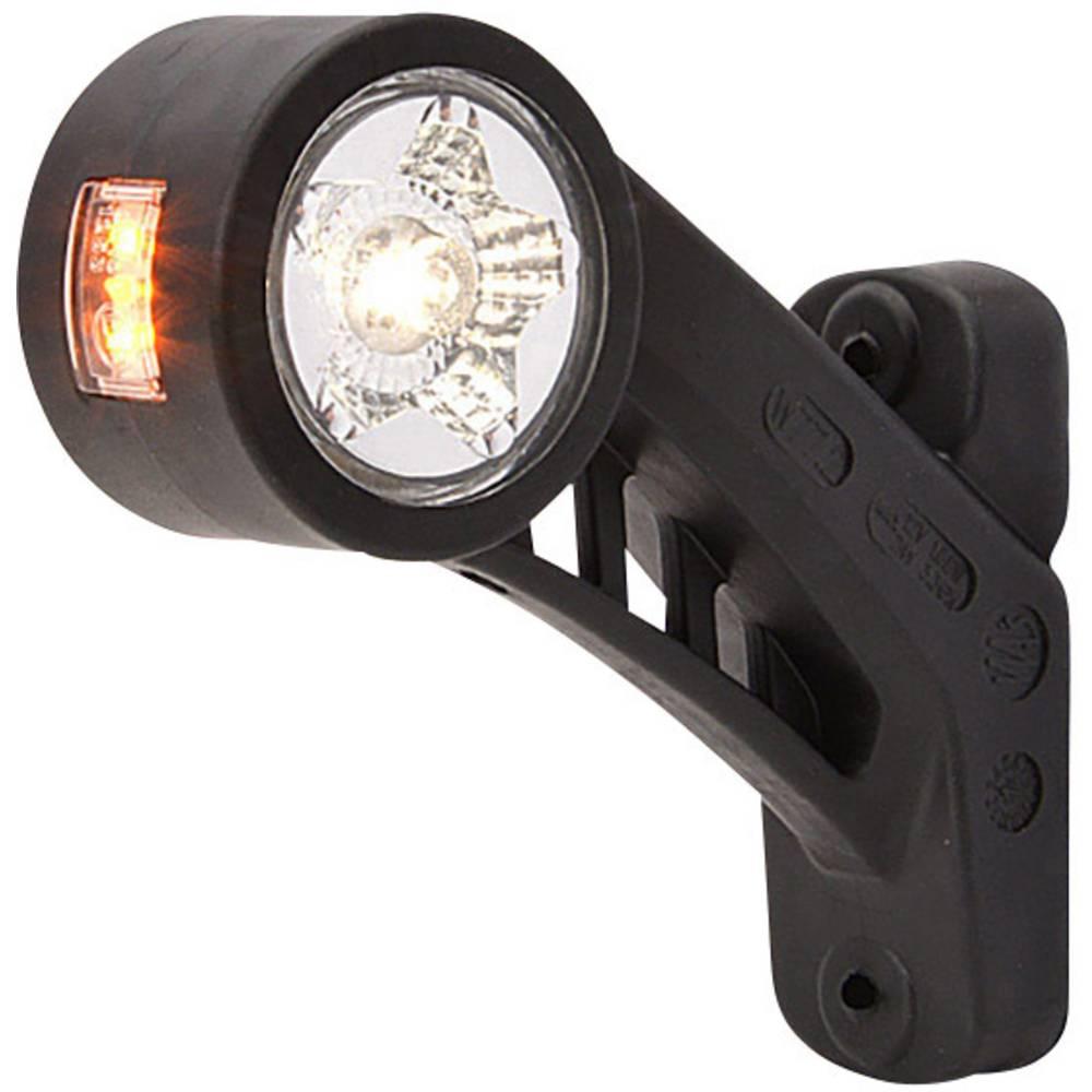 LED Omrids-markeringslygte Positionslys i siden, højre 12 V, 24 V Hvid, Orange, Rød SecoRüt
