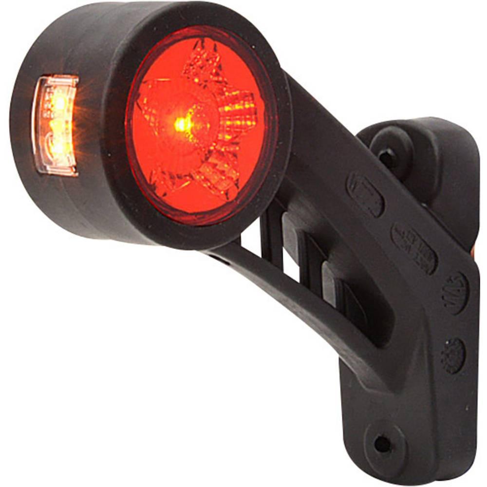 LED stranska odsevna markirna luč z odprtimi kabelskimi konci, leva 12 V, 24 V SecoRüt