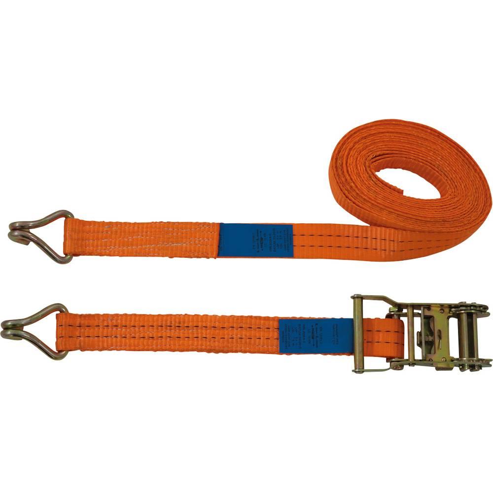 Dvodelni napenjalni trak z ragljo, vlečni privez (posamezno/neposredno)=1000 daN (D x Š) 6 m x 35 mm Petex