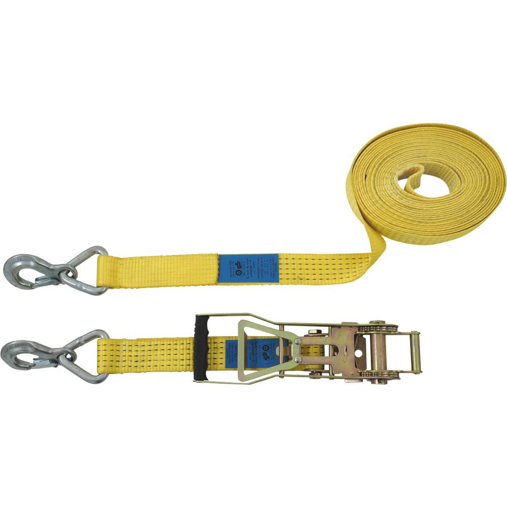 Todelt spænderem Trækkraft LC surring (individuelt / direkte)=2500 daN (L x B) 10 m x 50 mm Petex 43193119