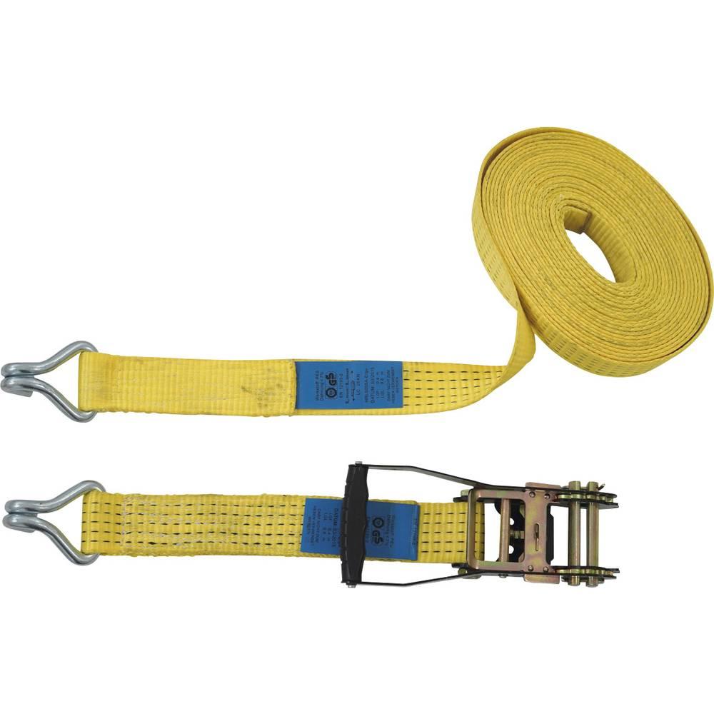 Dvodelni napenjalni trak z ragljo, vlečni privez (posamezno/neposredno)=2500 daN (D x Š) 8 m x 50 mm Petex
