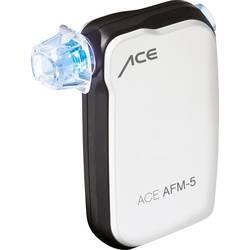 Alkohol tester ACE AFM-5 bele barve merilno območje alkohola (maks.)=4 ‰ prikaz na pametnem telefonu
