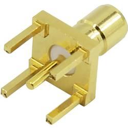 SMB-konektor, vtič, pokončna namestitev 50 TRU COMPONENTS 1 kos