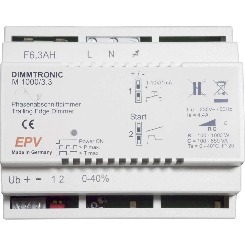 EPV 101722 zatemnilnik za din-letev Primerno za svetilke: halogenska žarnica, LED žarnica, energijsko varčna žarnica, fluorescen