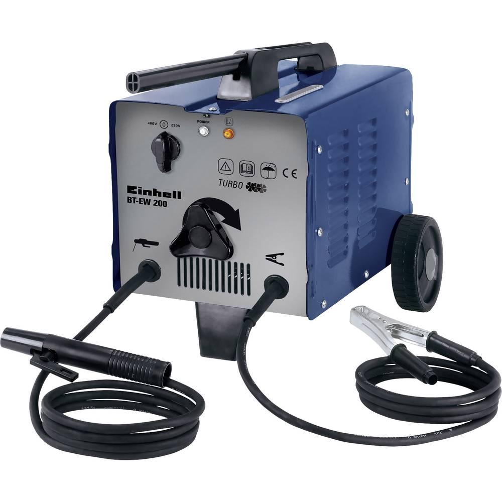 Einhell električni uređaj za varenje 1549040 radni napon 230/400 V/50 Hz struja varenja 57 - 200 A promjer elektrode 2 - 4 mm