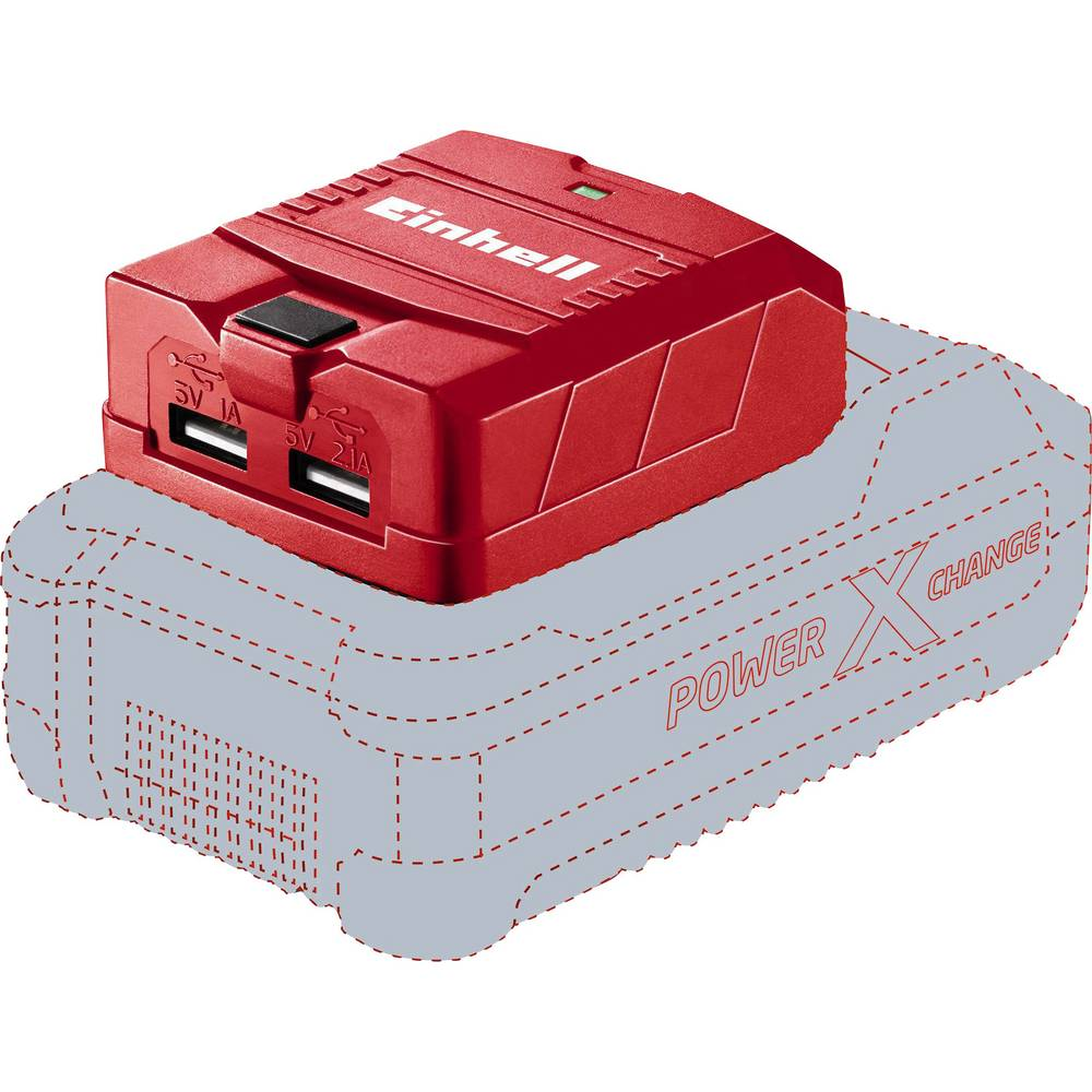 Polnilni adapter Einhell TE-CP 18 Li USB-Solo Power X-Change 4514120