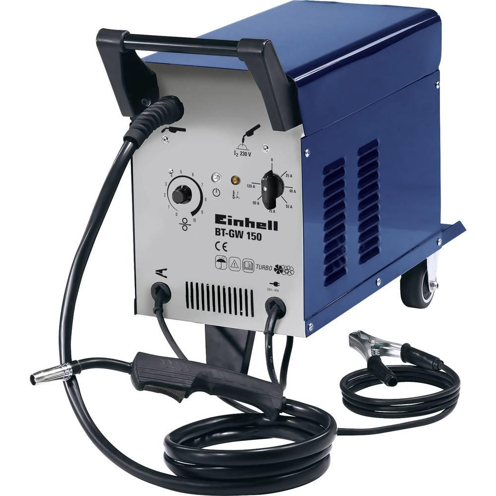 Einhell uređaj za varenje na žaštitni plin 1574970 radni napon 230 V/50 Hz struja varenja 25 - 120 A