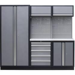 Kunzer WESS1 Radni modul 1 s radnom površinom od nehrđajućeg čelika (Š x V x d) 2275 x 2000 x 458 mm