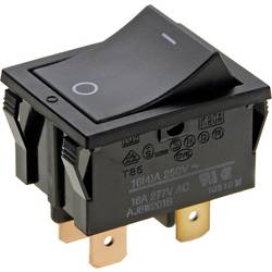 Vippströmbrytare 250 V/AC 16 A 2x Av/På Panasonic AJ8W201BF låsande 1 st