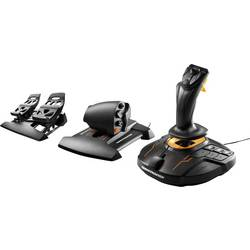 Flygsimulator-joystick Thrustmaster T16000M FCS Flight Pack USB PC Svart