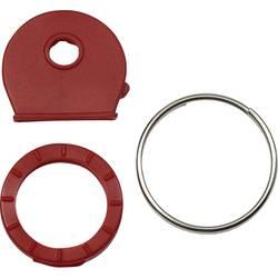 SWG obruči za ključeve 25 mm poniklani čelik, umjetna masa 16 kom.