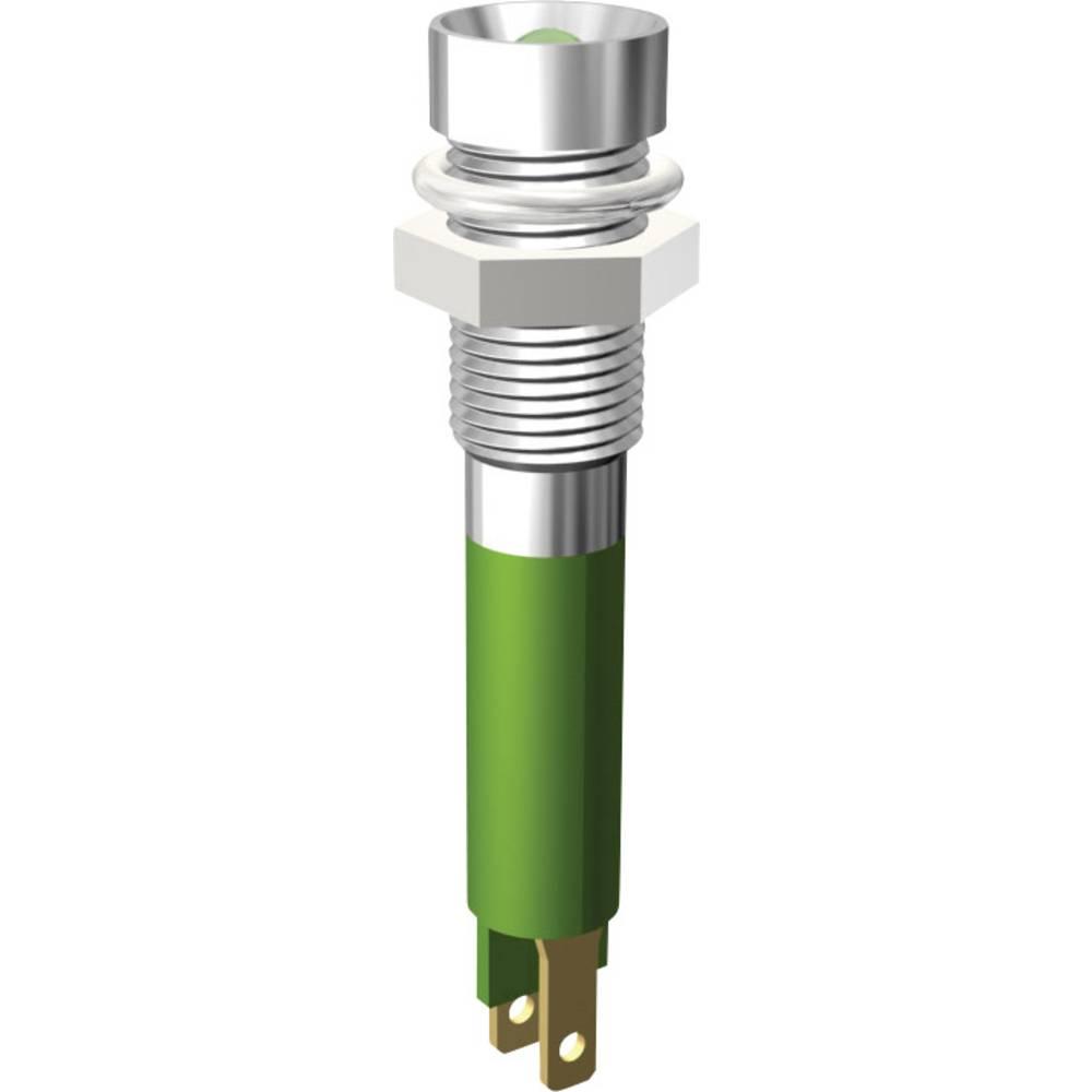 LED-Signalleuchte (value.1317401) Signal Construct SMZD06114 24 V/DC 12 mA Gul