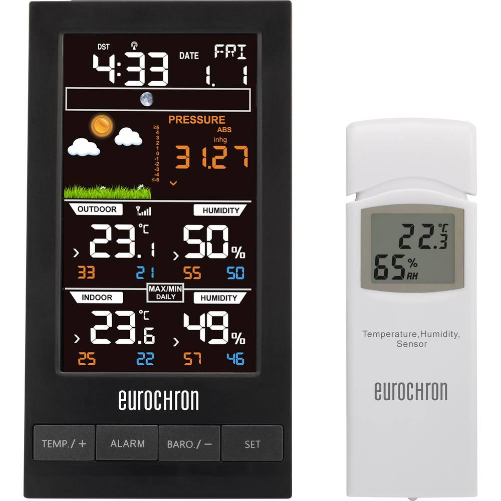 Brezžična vremenska postaja Eurochron EFWS S250 vremenska napoved za 12 do 24 ur