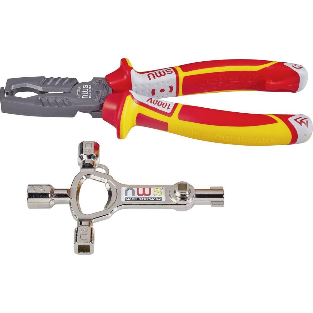 Višenamjenska kliješta, pogodna za okrugli kabel 5 do 16 mm 8 do 13 mm NWS MultiCutter VDE 748