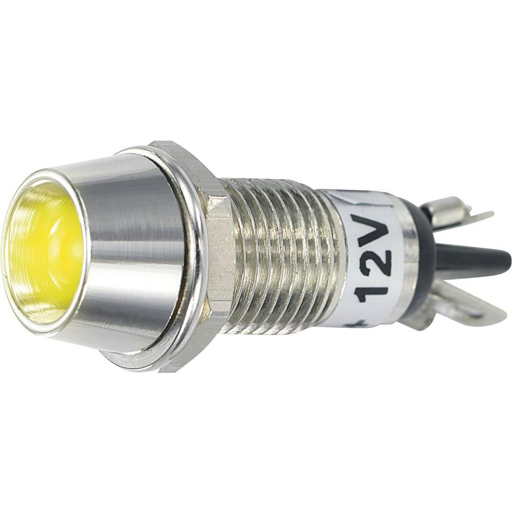 LED-Signalleuchte (value.1317401) SCI 149704 12 V/DC 20 mA Gul