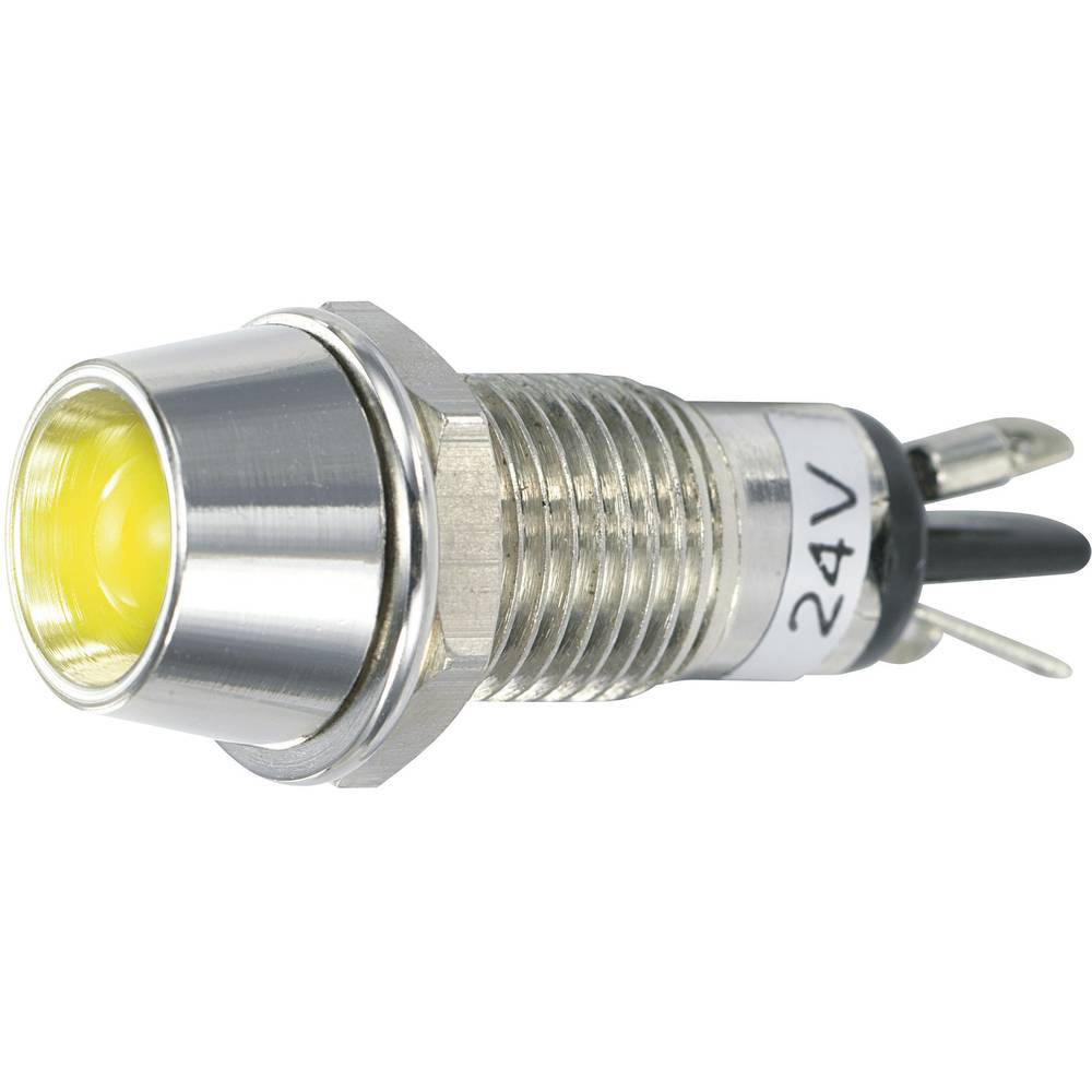 LED-Signalleuchte (value.1317401) SCI 149706 24 V/DC 20 mA Gul