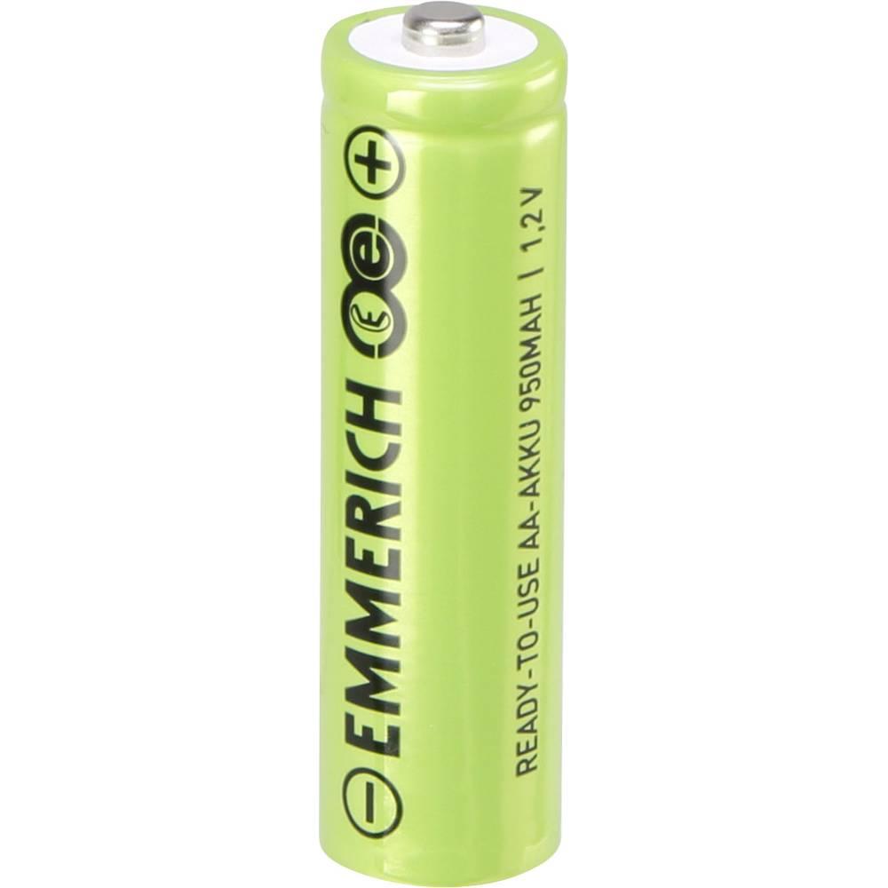 Mignon (AA) akumulatorska baterija NiMH Emmerich RtU 950 mAh 1.2 V 1 kos