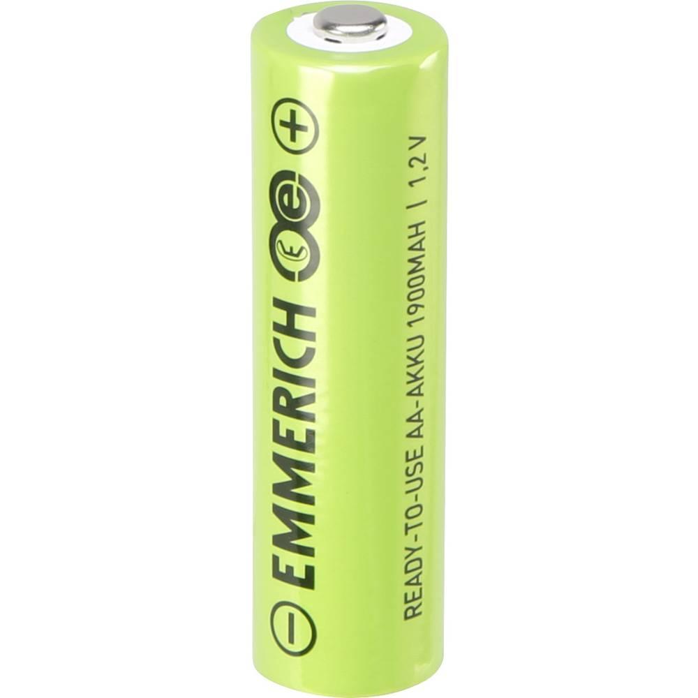 Mignon (AA) akumulatorska baterija NiMH Emmerich RtU 1900 mAh 1.2 V 1 kos