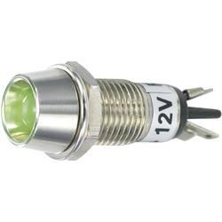 LED signalna lučka, zelena 12 V/DC SCI R9-115L 12 V GREEN