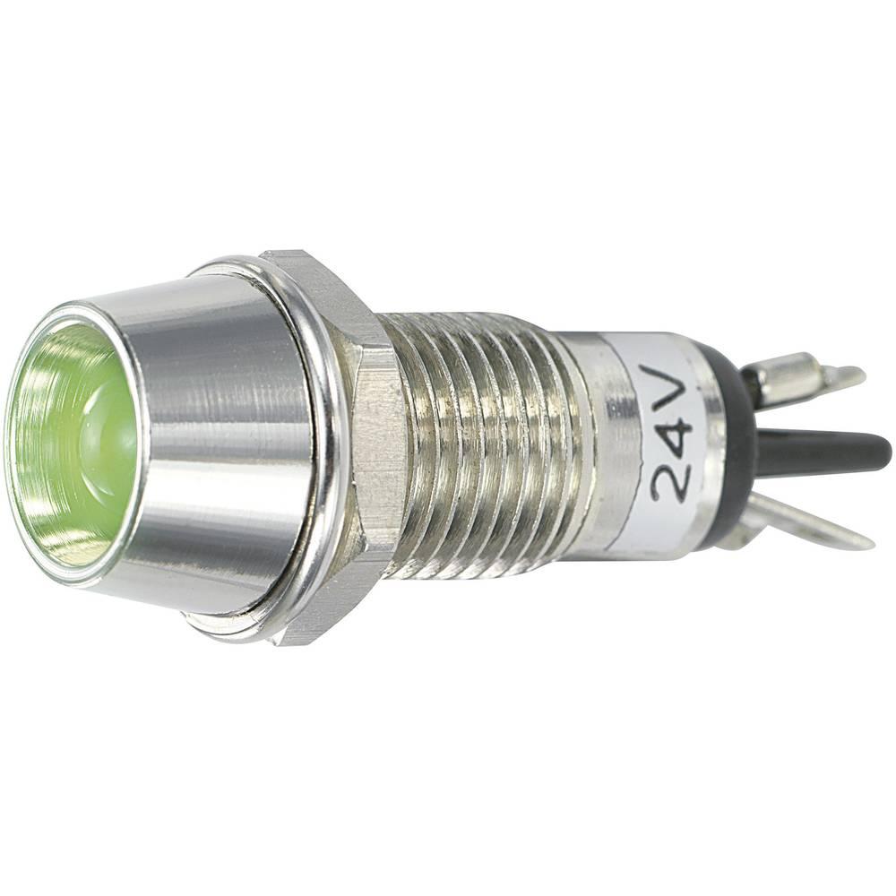 LED signalna lučka, zelena 24 V/DC SCI R9-115L 24 V GREEN