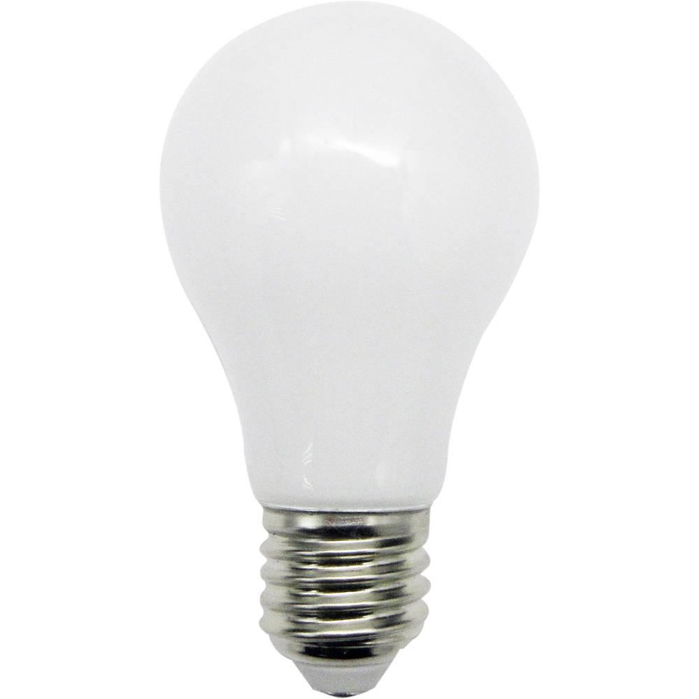 LED (eno-barvna) LightMe 230 V E27 6 W = 40 W toplo-bele barve EEK: A+ v obliki žarnice ( x D) 60 mm x 112 mm Filament 1 kos