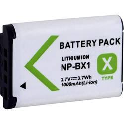 Baterija za kameru Conrad energy zamjenjuje originalnu bateriju NP-BX1 3.7 V 1000 mAh