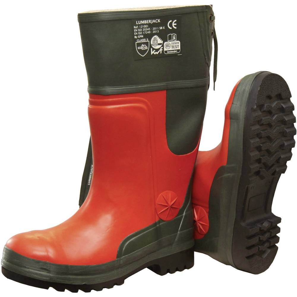 Zaštitne čizme, veličina: 40 narančaste, zelene boje 2493-40 1 par