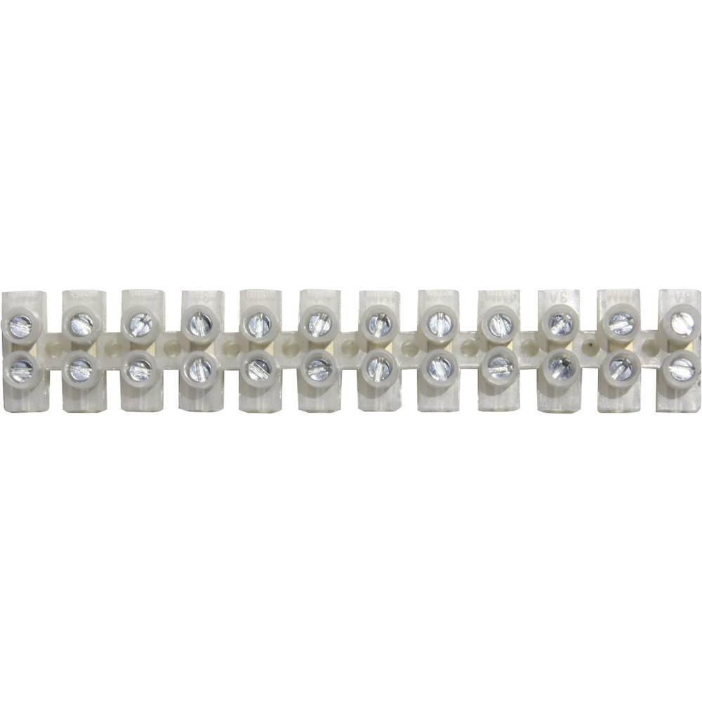 Fleksibilna sponka za lestenec -0.7 mm togost: -0.7 mm število polov: 12 BELI-BECO 1 kos sive barve, prozorne barve (mat)