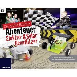 Hobbybox Franzis Verlag Elektro- & Solar-Rennflitzer fra 8 år