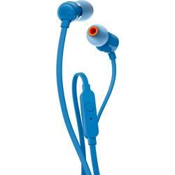 Slušalke JBL Harman T110, v-ušesne slušalke, modre barve