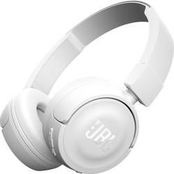 JBL Harman T450BT Bluetooth® on ear slušalke on ear zložljive, naglavni komplet bela