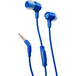 Slušalke JBL Harman E15, v-ušesne slušalke, modre barve