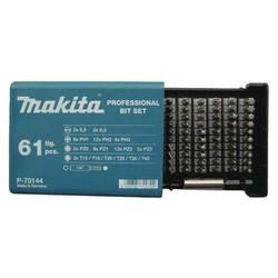 Set bit-nastavaka 61-delni Makita P-70144 ravan, križni Pozidriv, križni Phillips, unutarnji TORX