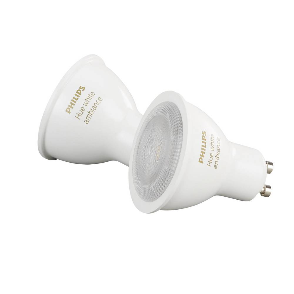 Philips Lighting Hue LED žarnica (razširitev) White ambiance GU10 5.5 W topla bela, nevtralno bela, hladno bela