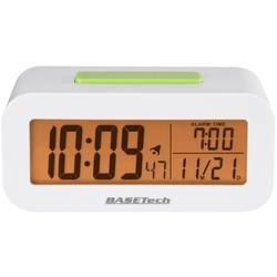DCF Väckarklocka Basetech KW-9330 Vit Larmtider 1