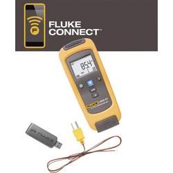 Fluke LK-t3000 FC + PC3000 naprava za merjenje temperature -200 do +1372 °C funkcija zapisovanja podatkov, kalibracija: delovni