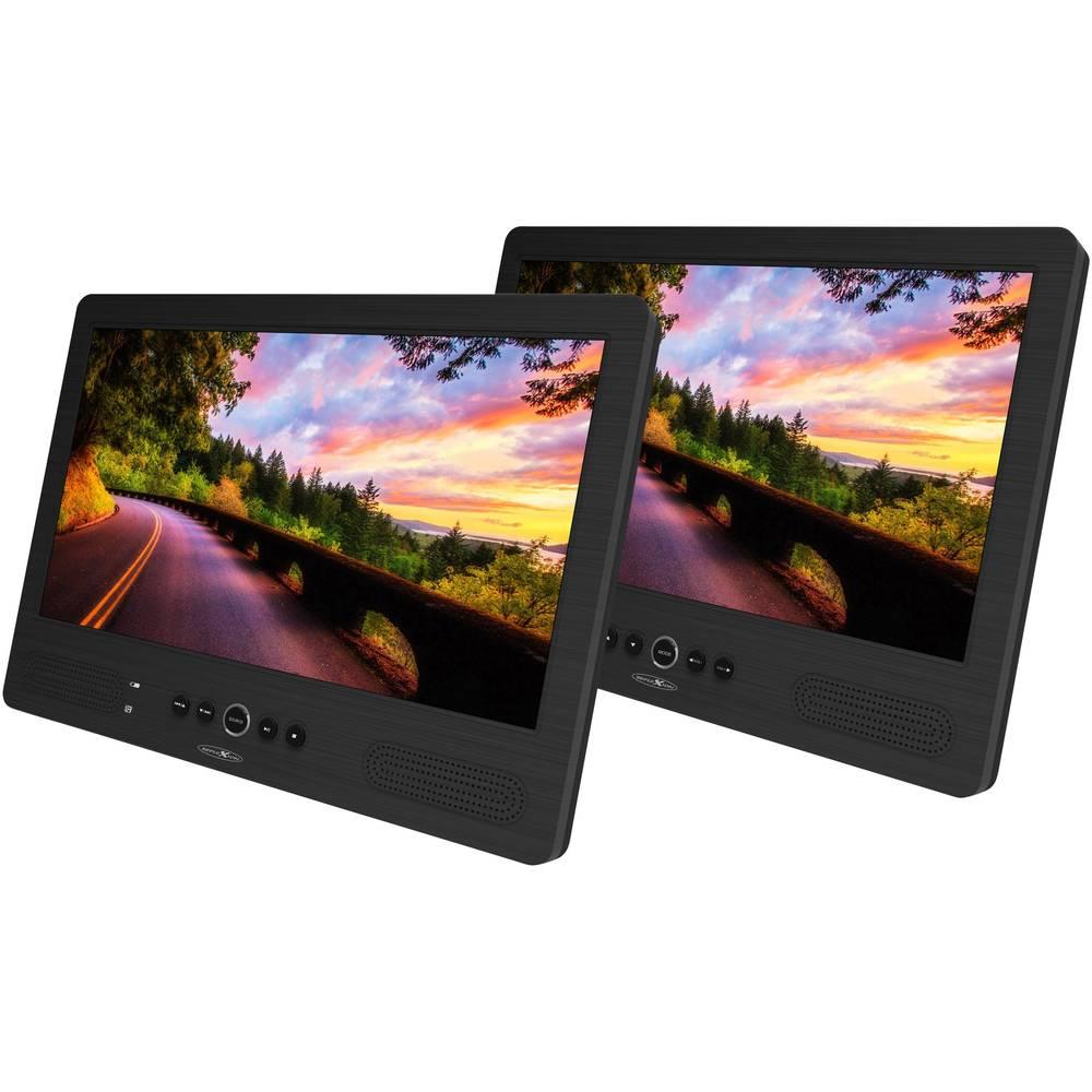 DVD-predvajalnik za na vzglavnik z 2 monitorjema Reflexion DVD1052