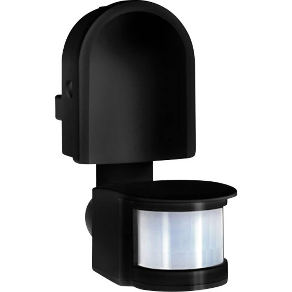GEV 016880 stena, strop javljalnik gibanja 180 ° rele črna ip44