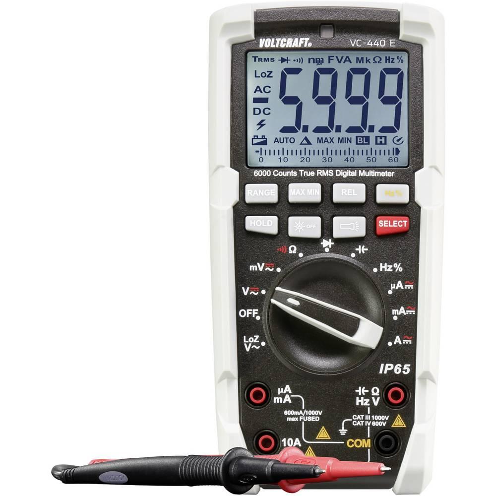 Ročni multimeter VOLTCRAFT kalibracija narejena po: ISO