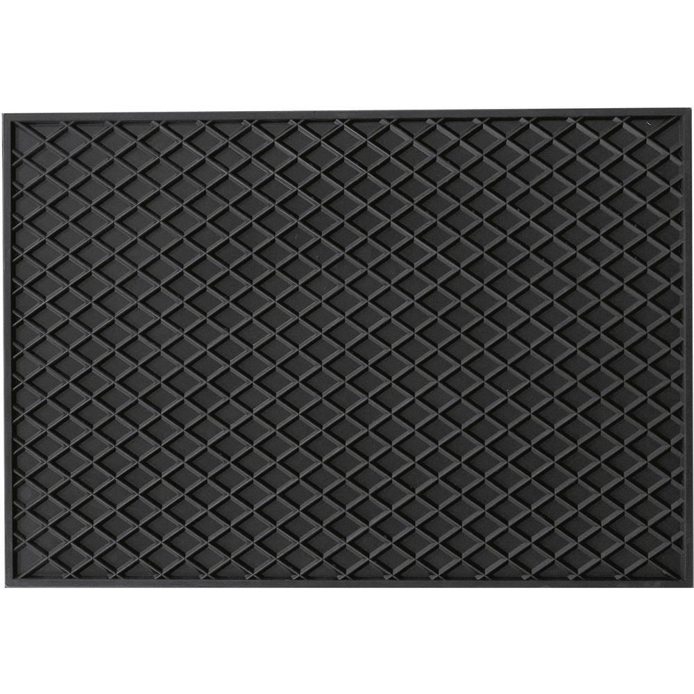 Fodmåtte (universal) Universal Gummi (natur) (L x B x H) 530 x 370 x 10 mm Sort HP Autozubehör 16537
