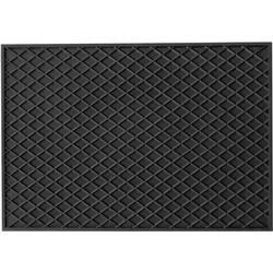 Univerzalni gumijasti predpražniki (D x Š x V) 530 x 370 x 10 mm črne barve HP Autozubehör 16537