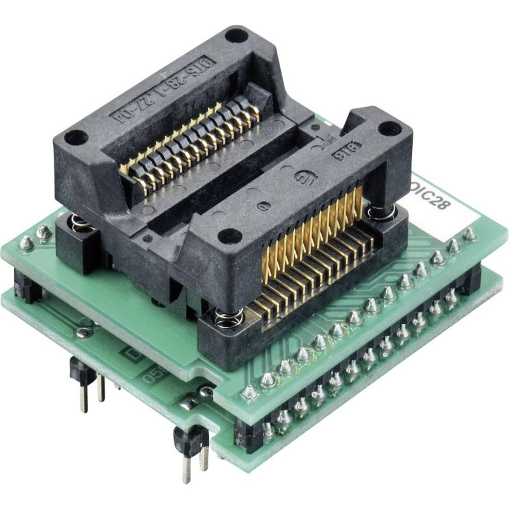 Adapter za ELNEC®-Programer Elnec 70-0023 = 70-0877, tip DIL28/SOIC28 ZIF 300 mil = DIL28W