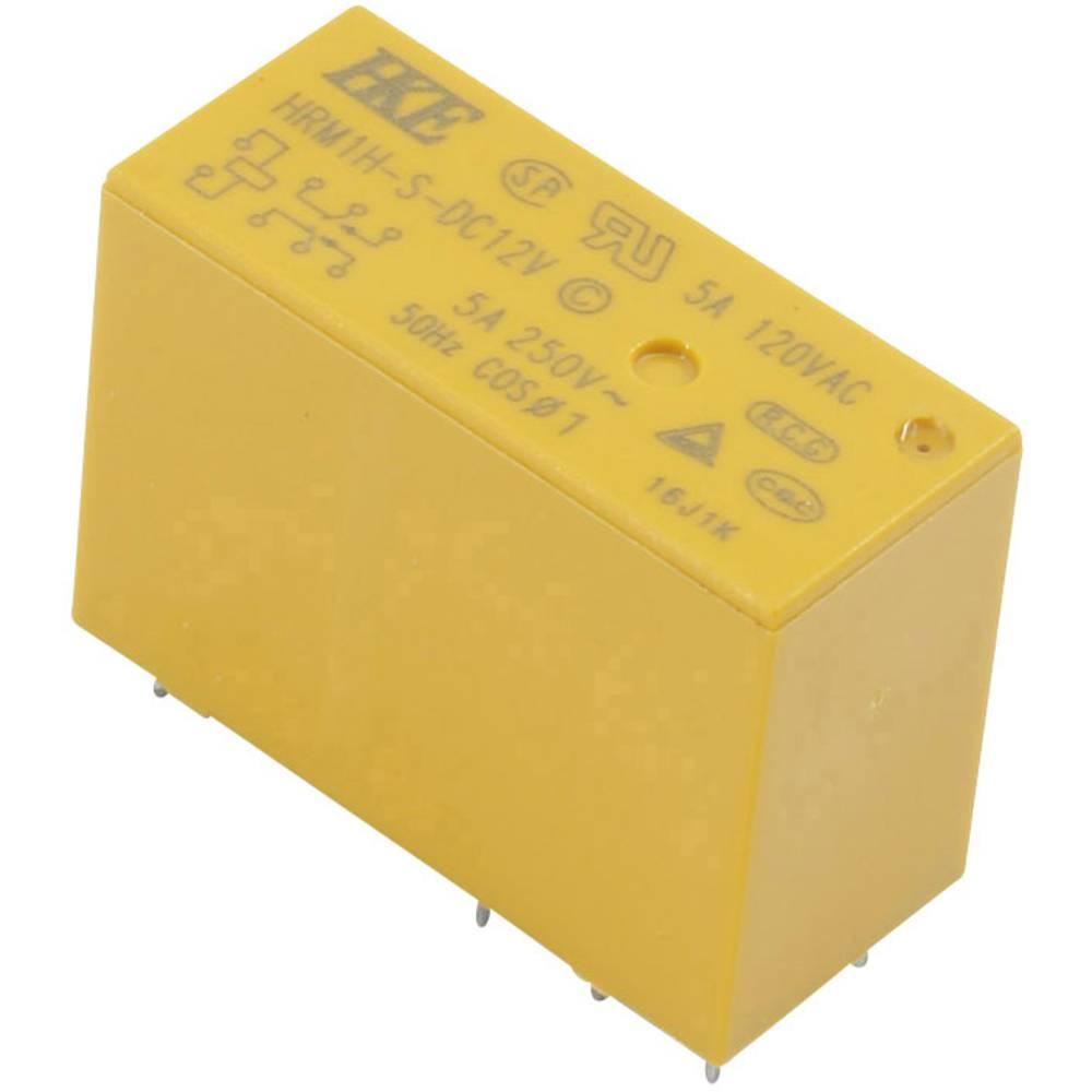 HKE HRM1H-S-DC12V-C rele za tiskano vezje 12 V/DC 5 A 1 menjalo 1 kos